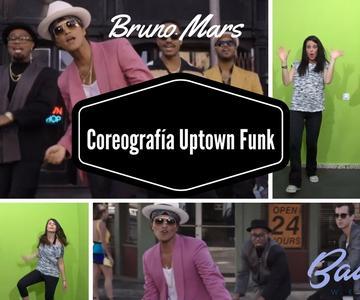 Coreografía Uptown Funk Tutorial