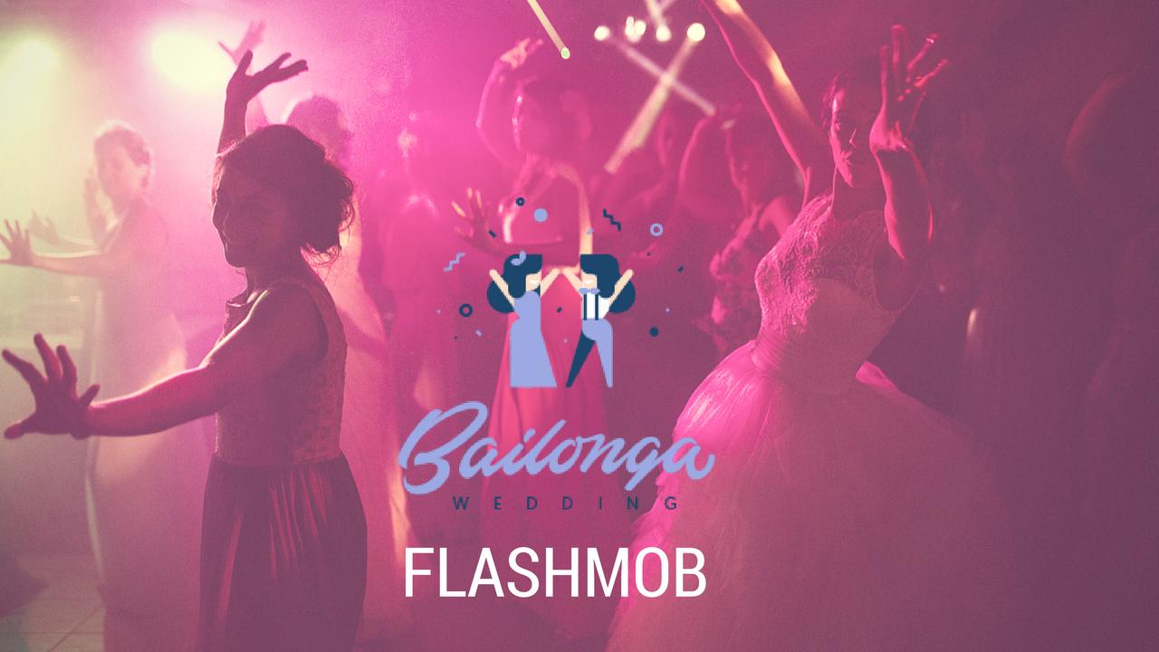 flashmob- baile de novios bailonga