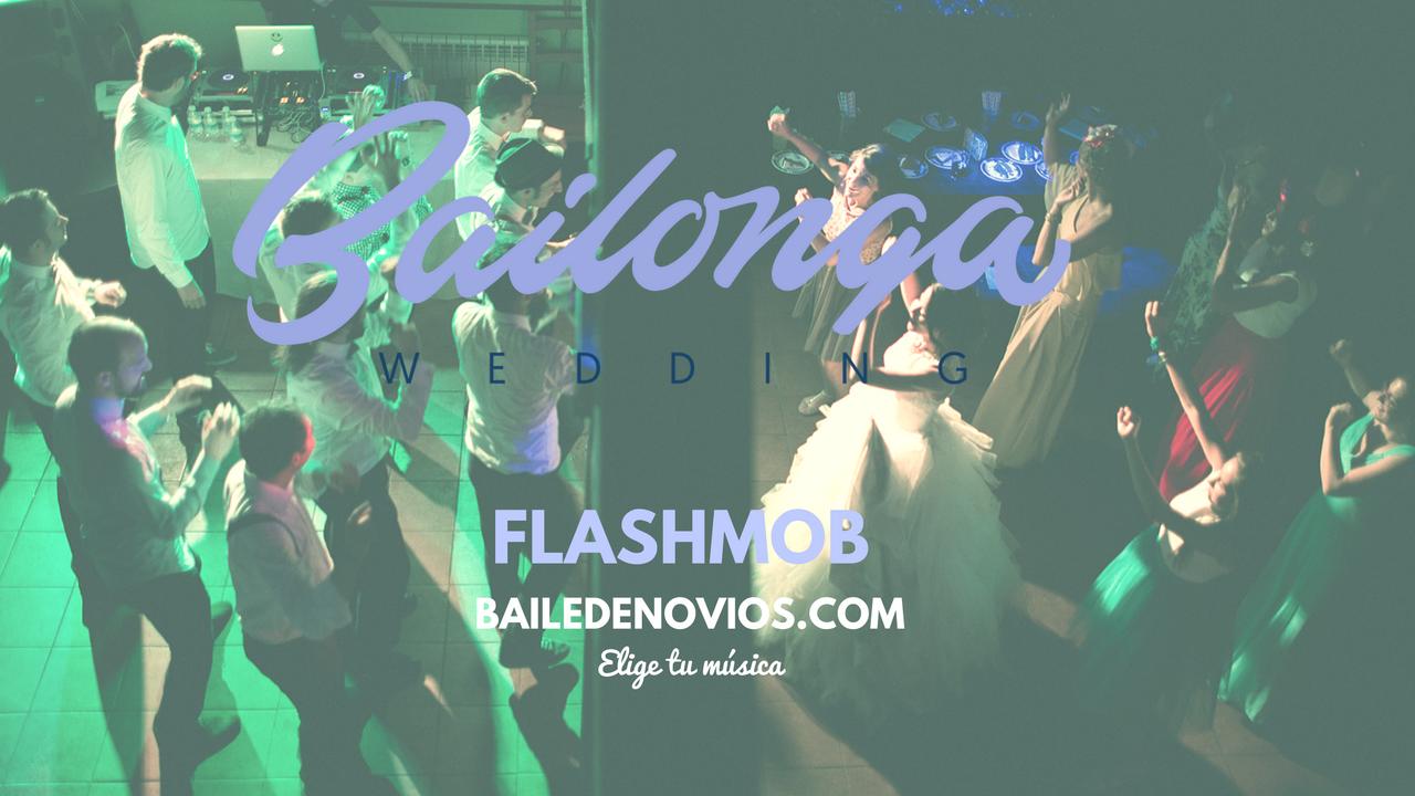 flashmob personalizado.baile de novios