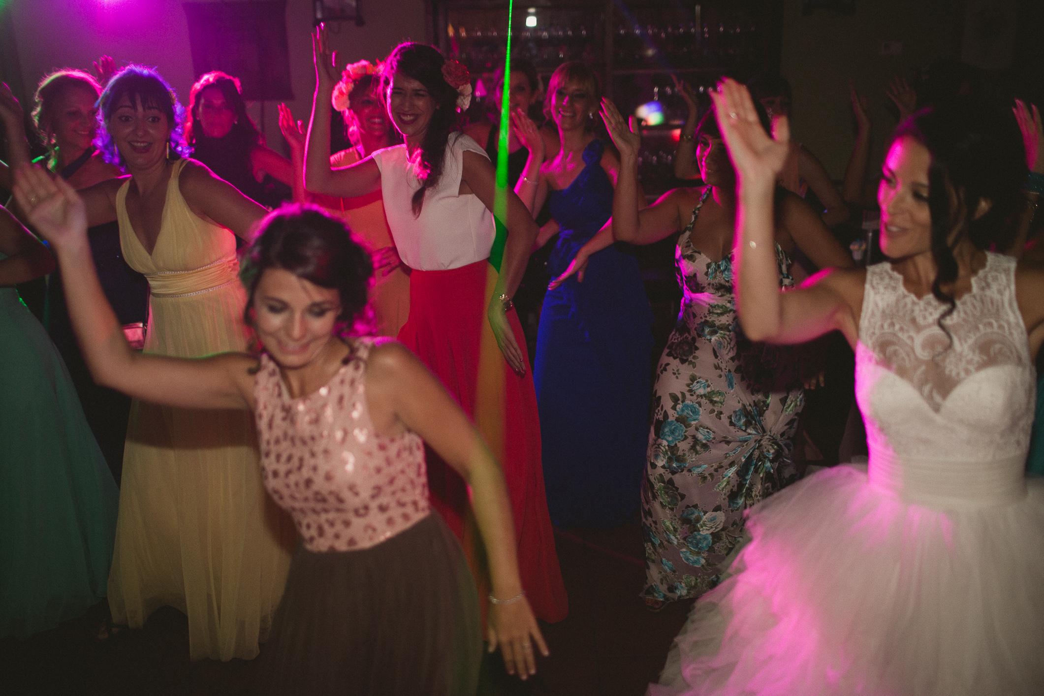 Batalla de baile de novios