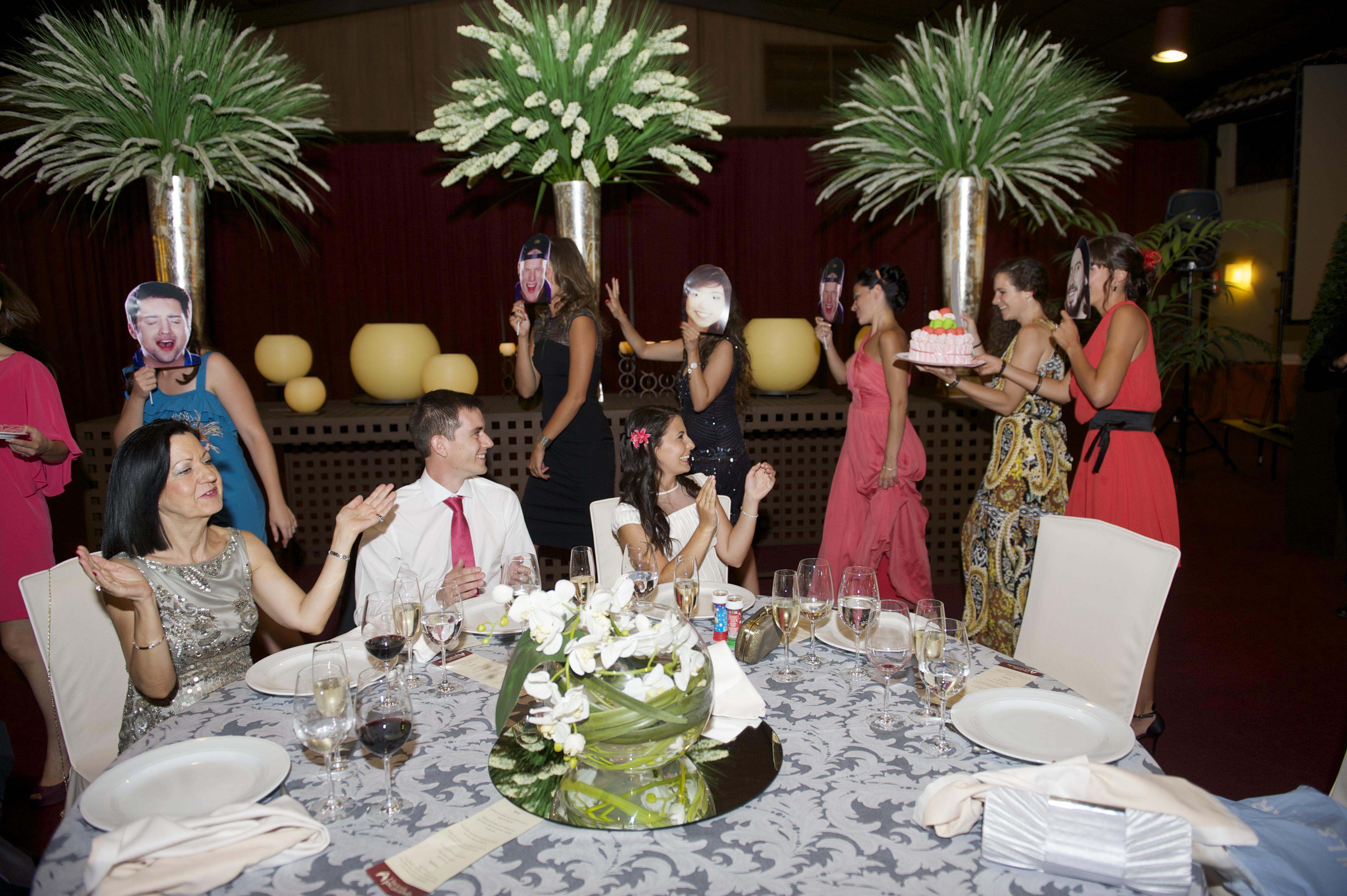 baile sorpresa en el banquete