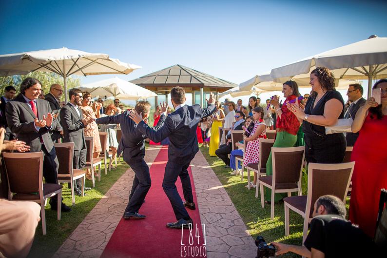 Baile Sorpresa ceremonia