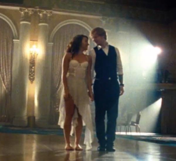 baile de novios romantico