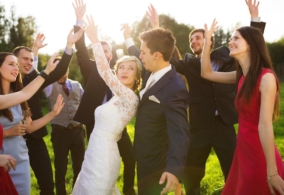 boda flashmob amigos