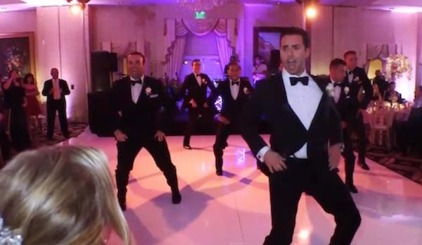 Bailes de boda para sorprender a la novia