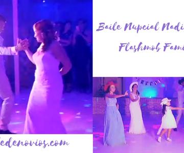 Baile Nupcial Nadia y Unai con flashmob familiar