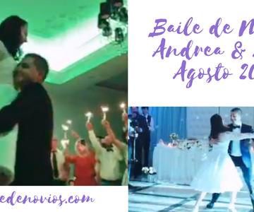 Baile de novios romántico Andrea & Alin